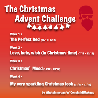 christmas advent challenge consiglidimakeup