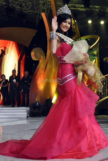 Puteri Indonesia 2011,astrid, Puteri Indonesia winner
