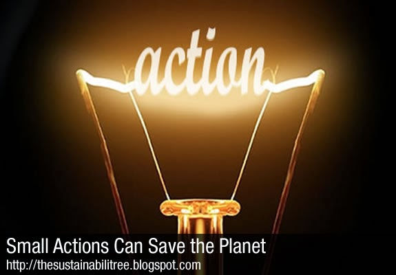 A lightbulb illuminates the word action