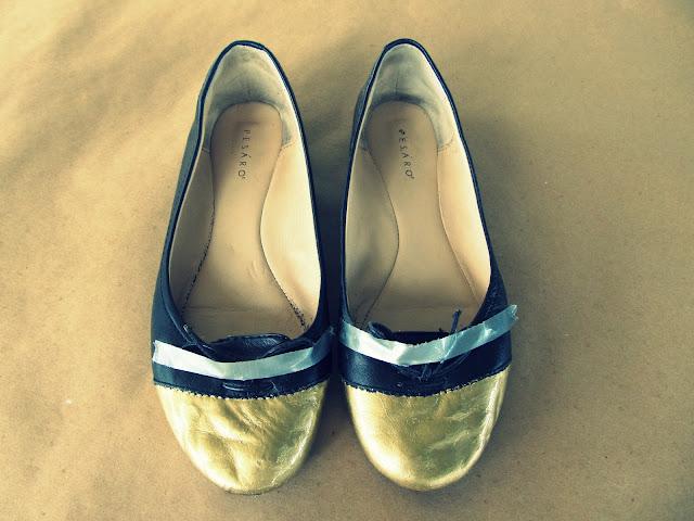 Gold Shoe Paint Uk