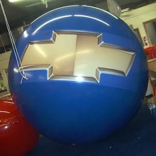 Balon Bola Pantai