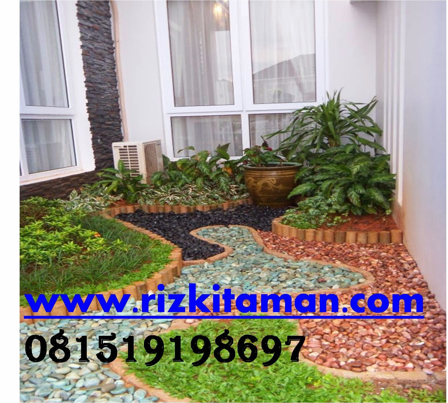 Tukang taman minimalis | jasa pembuatan taman dan penanaman rumput taman