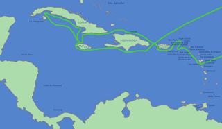 Cuba, ruta de Cristóbal Colón
