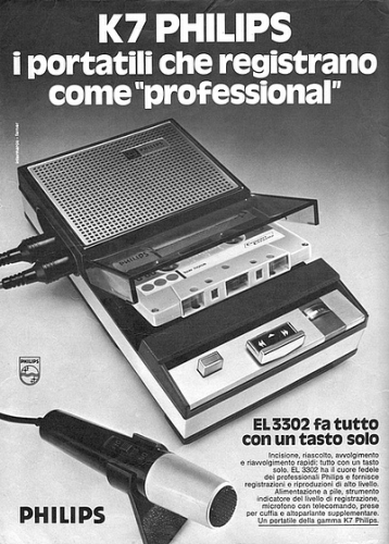 Registratore Philips a cassette