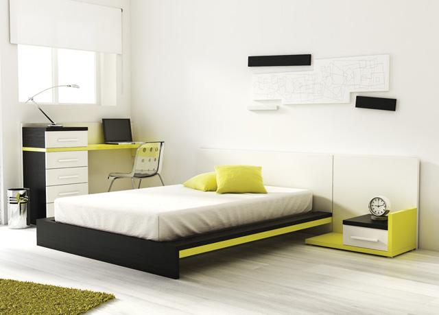Muebles ros amueblar una habitaci n juvenil - Amueblar habitacion juvenil ...