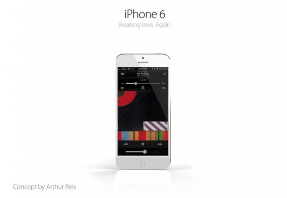 Jailbreak 6.1.3 iOS 7: Konsep Desain iPhone 6!