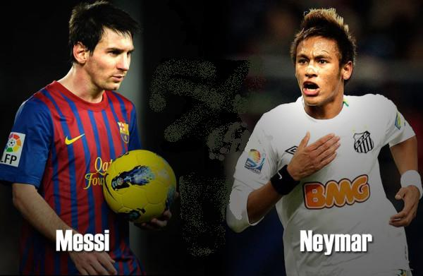 Lionel Messi Vs Neymar Da Silva  Wallpaper  2012