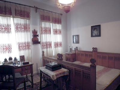 Nicolae Iorga's room, Memorial Museum Valenii de Munte, Prahova County