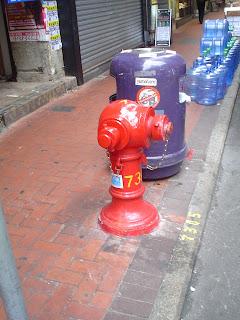 Hong Kong fire hydrant