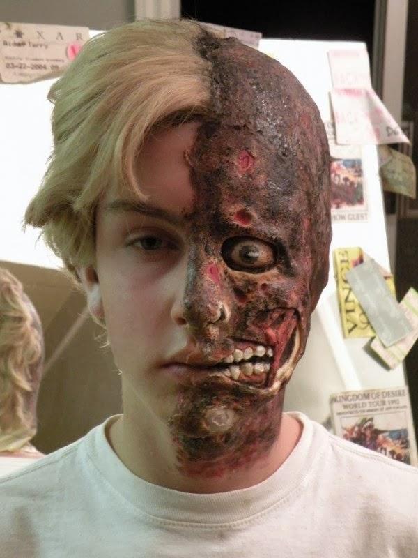 maquillaje de monstruos y terror para niños halloween
