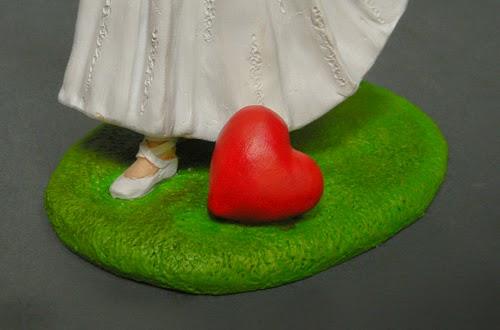 statuette torta sposi originali scarpette di danza sposa ballerina orme magiche