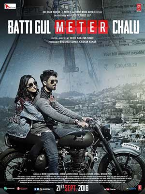 Batti Gul Meter Chalu 2018 Bollywood 300MB Movie HDCAM 480p