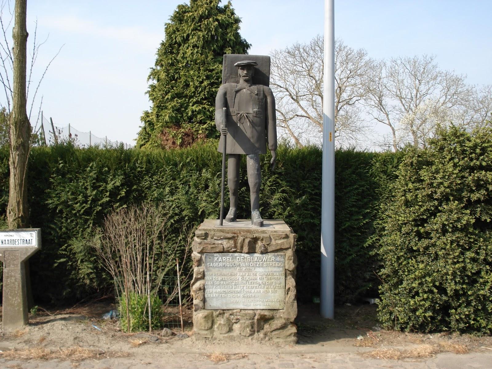 Karel de Blauwer in Haringe