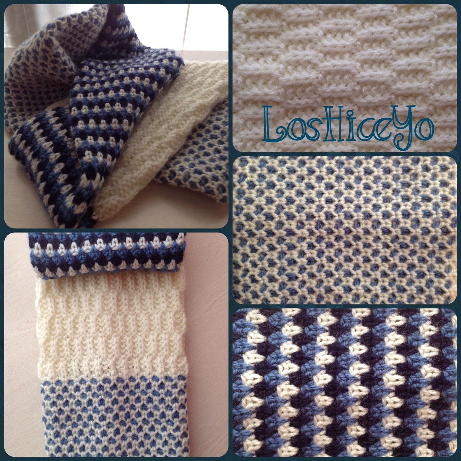 LosHiceYo - Stitch Block Cowl