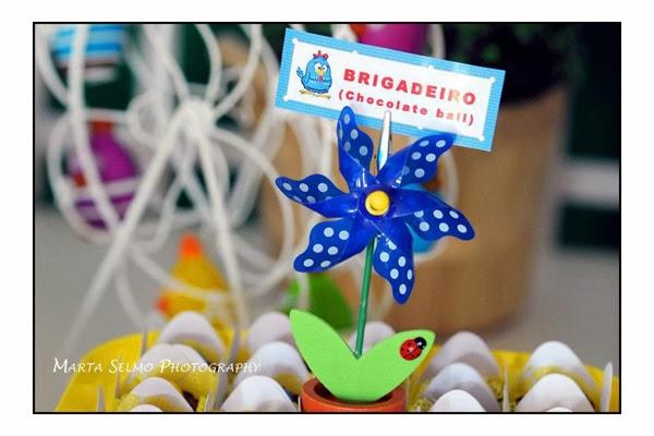 Idéias para Decoração Festa Galinha Pintadinha