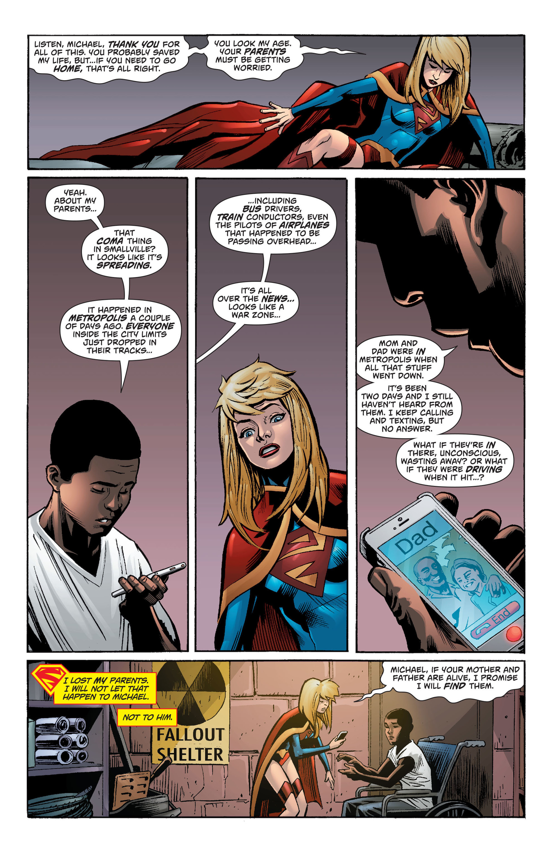 Supergirl (2011) Issue #34 #36 - English 11