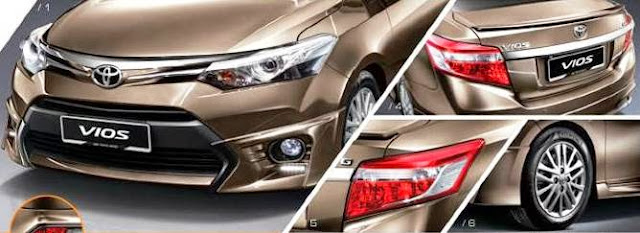 the aerodynamic-flowing linesand seamless curves makes the new Vios