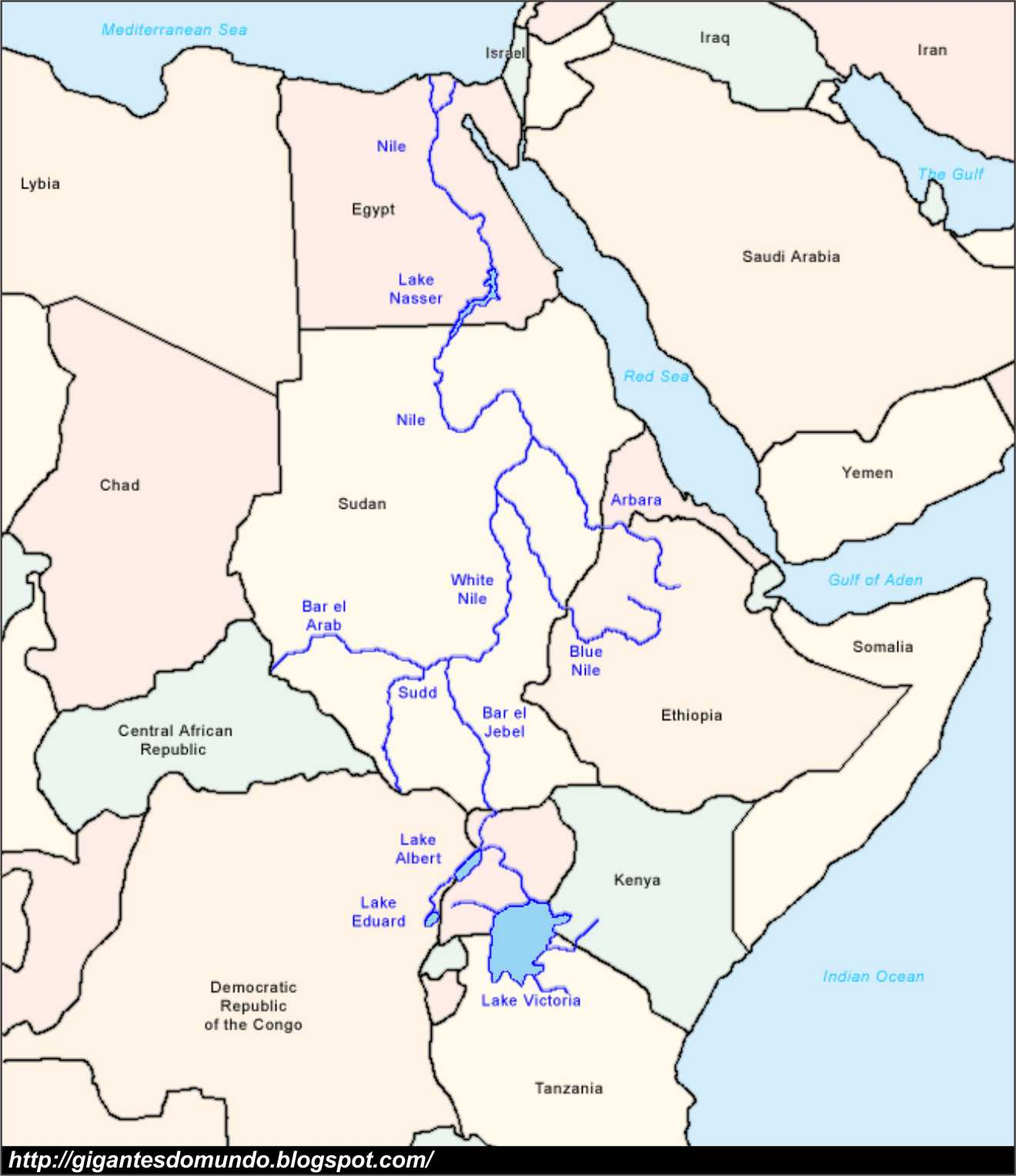 Os 10 maiores rios do mundo  Gigantes do Mundo
