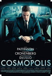 """Poster do filme """"Cosmópolis"""""""