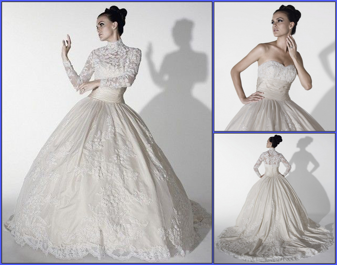 Hi Everyone, Welcome to Contessa.: Strapless sweetheart ball gown a ...