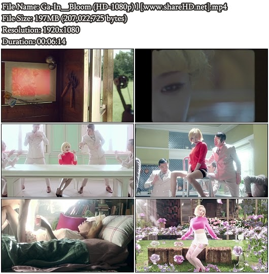 Download MV Ga-In (Brown Eyed Girls) - Bloom (Full HD 1080p)