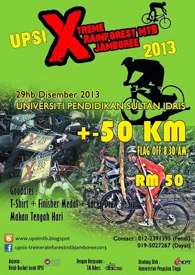 UPSI Xtreme Rainforest MTB Jamboree 2013 - 29 December 2013