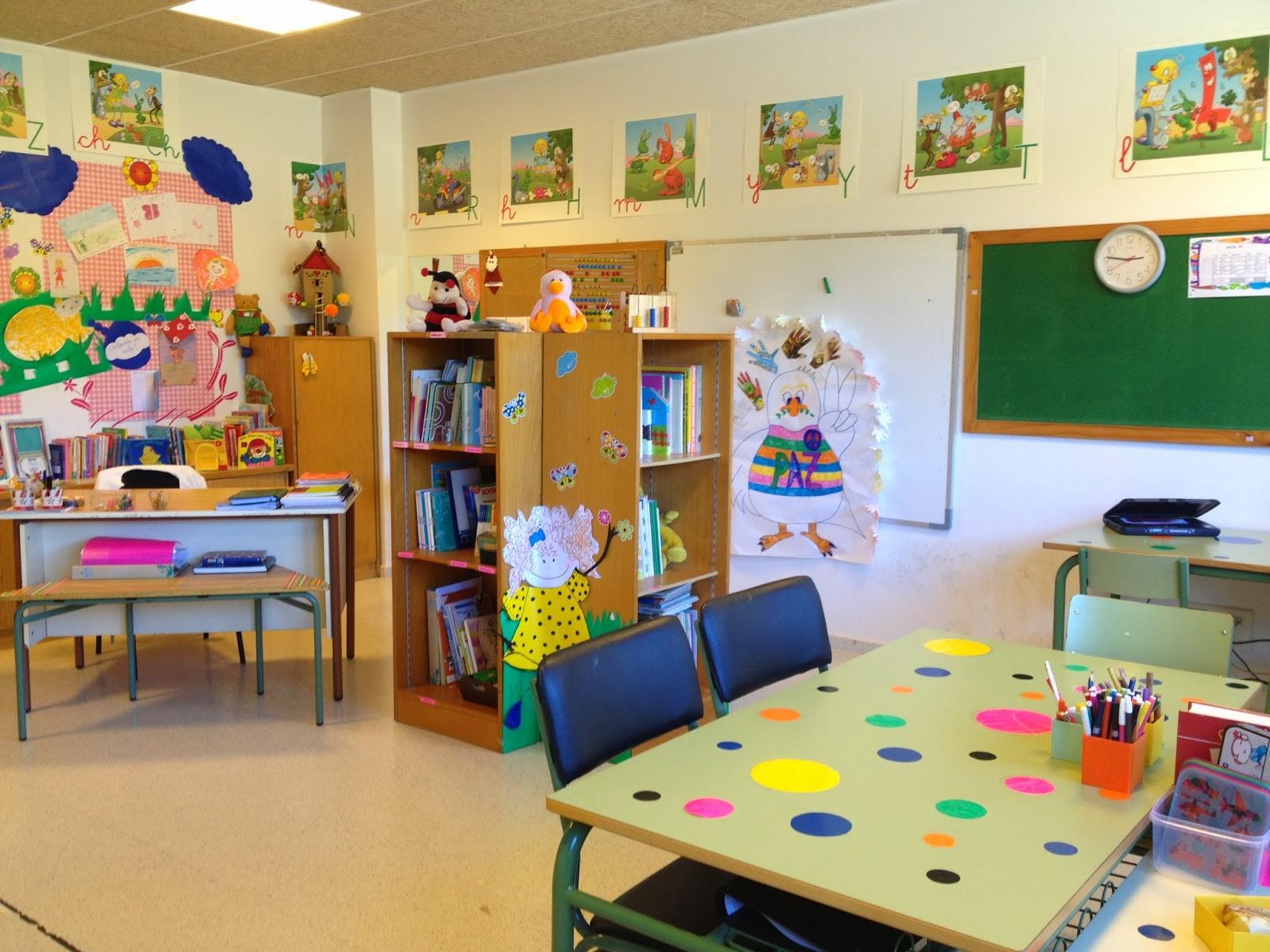 aula de pt do ceip san xo n de becerre setembro nova On decoracion de espacios en preescolar