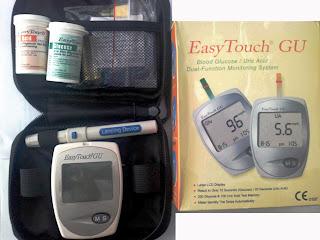 alat test gula darah