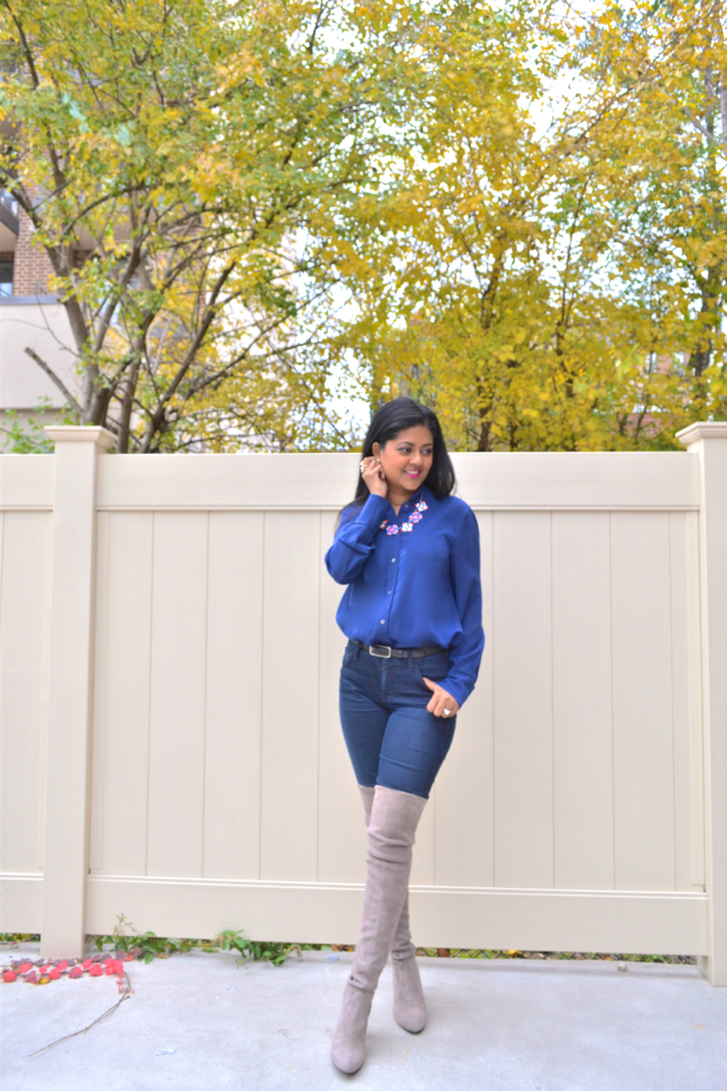 Fall outfits in Astoria New York Astoria in Heels