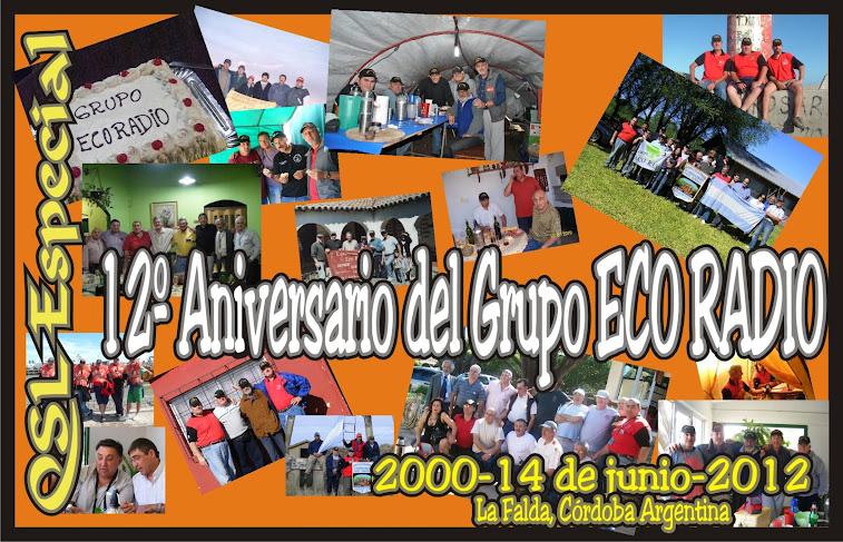 QSL special 12º Aniversario del Grupo Eco Radio