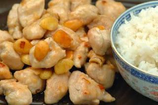 pollo alle  mandorle...dalla cina alle nostre tavole!