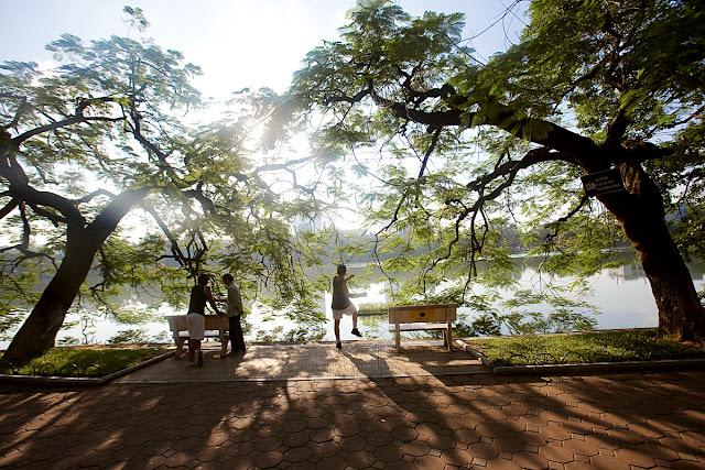 Ejercicio lago Hoan Kiem Hanoi