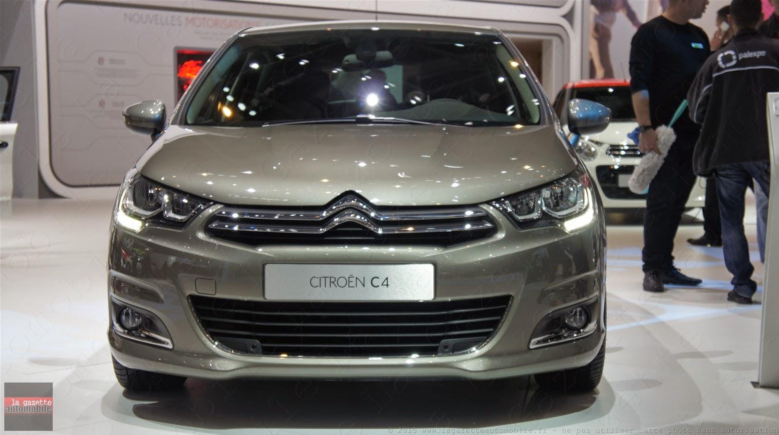 Genève 2015 Citroën C4 Facelift