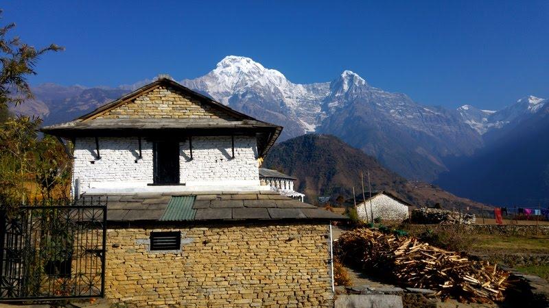 GHANDRUK, HIMALAYAS, NEPAL, '16