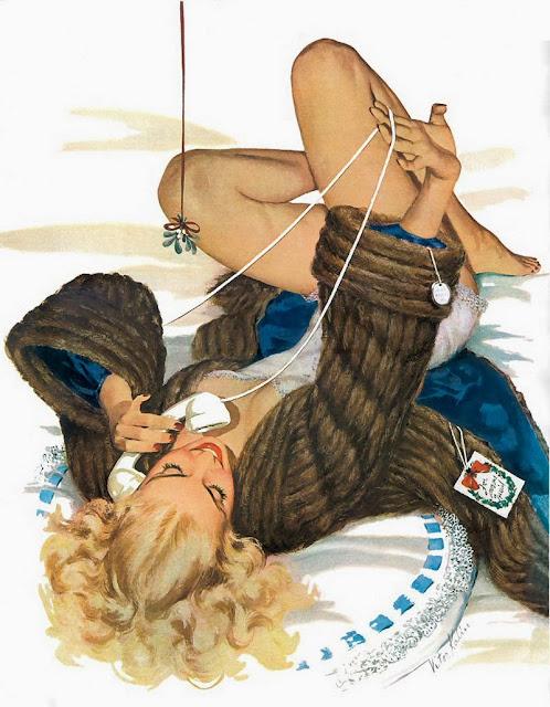 vintage illustration girl