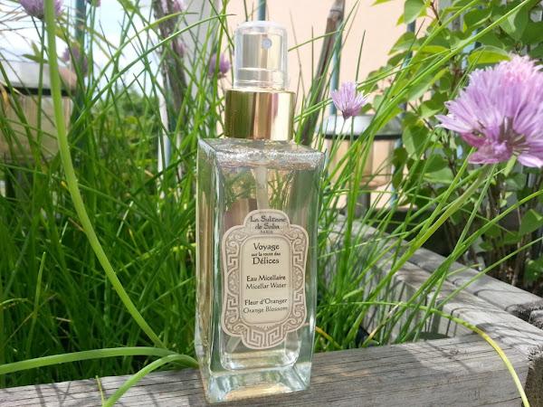 L'eau micellaire à la fleur d'oranger la Sultane de Saba : invitation au voyage !