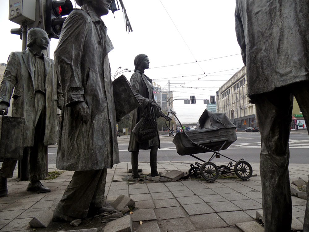 Street Art Przejscie photographed in Wroclaw by Andie Gilmour