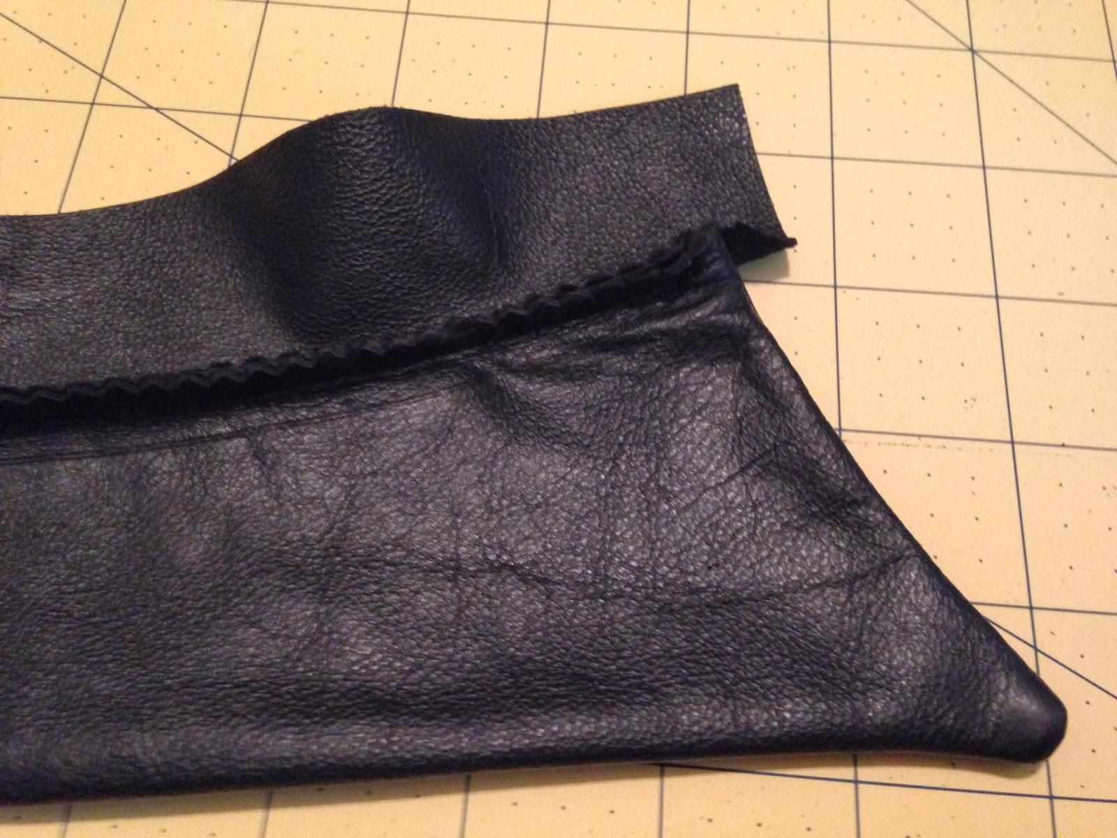 Ulterior Alterations: Removable Leather Collar DIY walk-thru