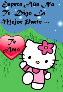 Te amo Hello Kitty
