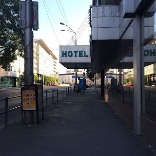 hotelli tatran sisäänkäynti on hyvällä paikalla