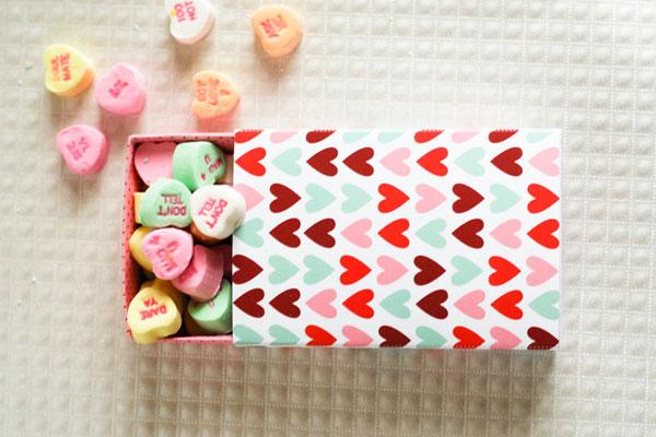 Caja para San Valentín