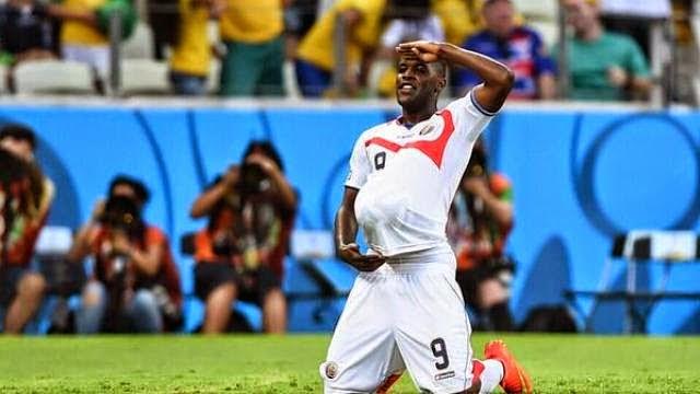 كوستاريكا تهزم اوروغواي بثلاثية