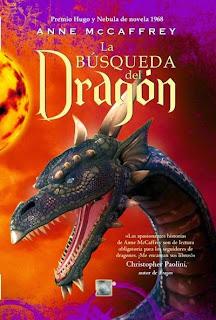 La búsqueda del dragón de Anne McCaffrey
