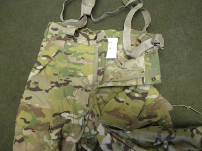US ARMY MULTICAM COLD WEATHER SOFT SHELL TROUSERS d