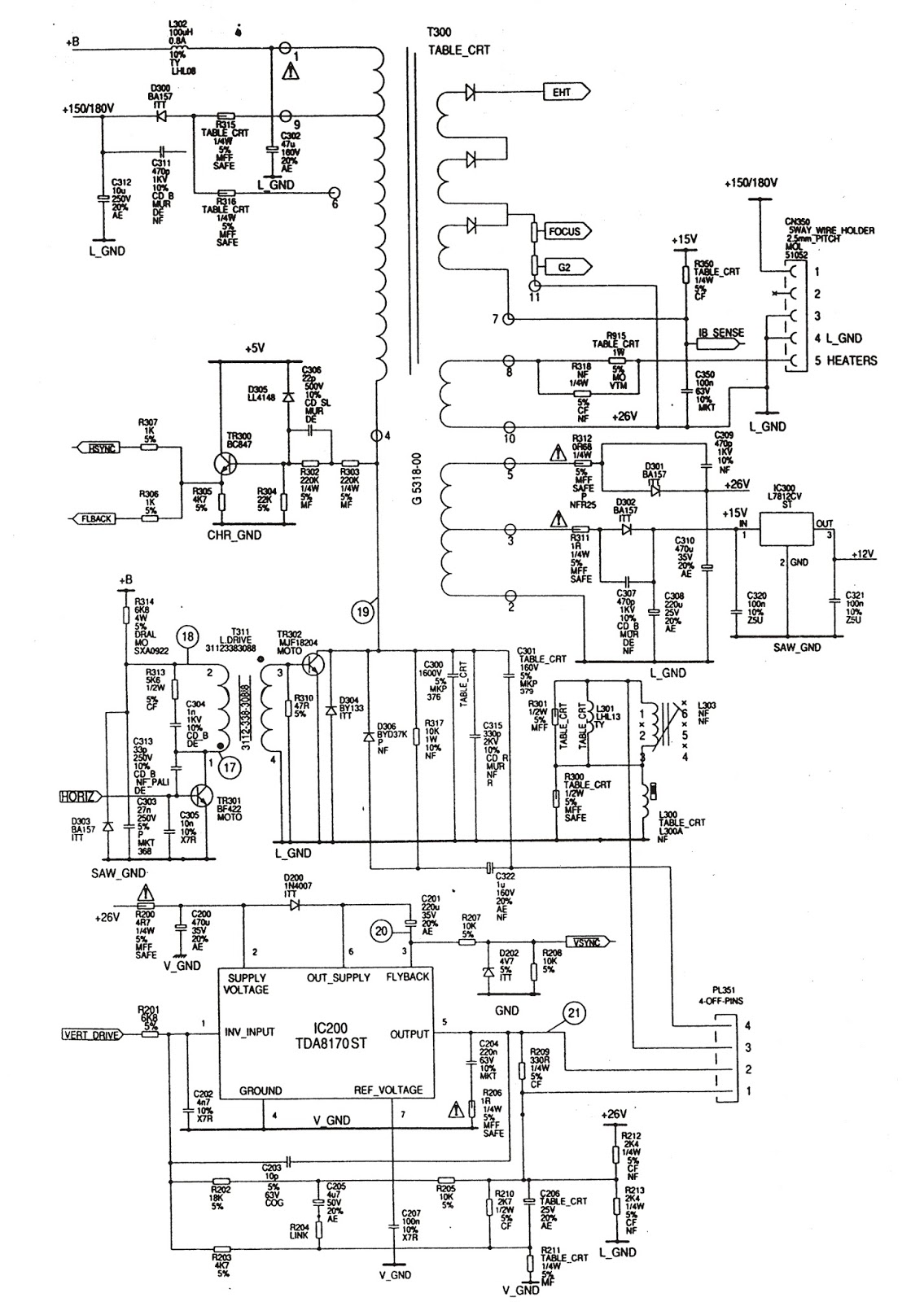 smps power supply schematic - ic sg3844