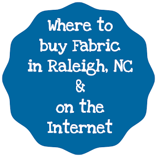 Where to Buy Fabric in Raleigh NC | Where to Buy Fabric Online | Where to Buy Fabric On the Internet | Fabric Sources