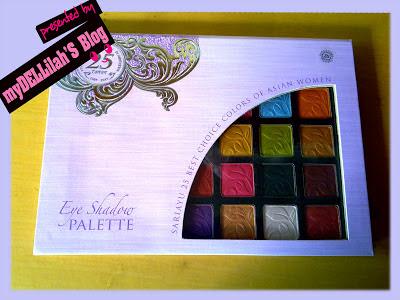 Sariayu 25th anniversary palette