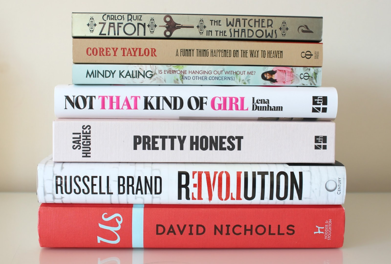 A picture of a book haul