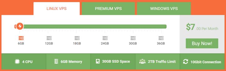 VPS Server Pada Harga Rendah