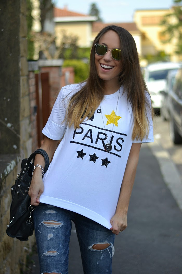t-shirt lolly star